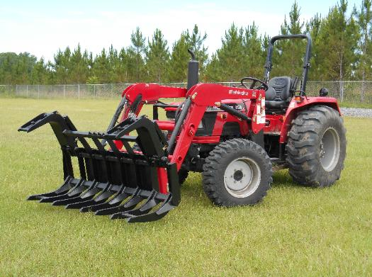 the best tractor grapple,new best in class tractor root rake attachment,